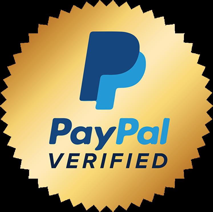 Selo oficial do PayPal
